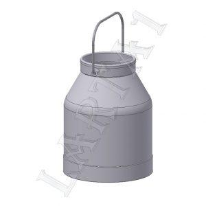 Alumīnija spainis DPR.31.120-02